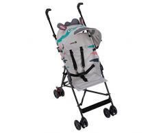 Safety 1st 1187681000 Buggy Crazy Peps Zebra - kompakter Kinderbuggy für unterwegs, farbenfroh und praktisch, mehrfarbig