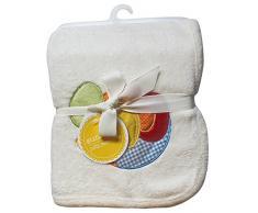 Suncrest Jolly Jamboree Weich Kinderwagen und Kinderzimmer Baby Decke (100 x 75 cm, Creme)