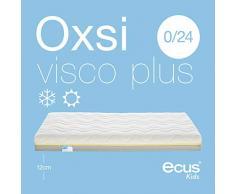 Ecus Kids, Matratze für das Babybett Oxsi Visco PLUS: Die viscoelastische Babymatratze - 140x70x12