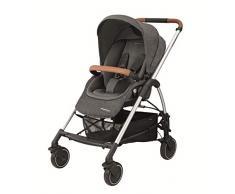 Bébé Confort - Mya verstellbarer Wagen aus Buggy, Kinderwagen und Babyschale, Gruppe 0+ Kinderwagen Sparkling Grey
