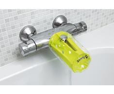 Safety 1st aufblasbarer Wasserhahnschutz, schützt Ihr Kind vor heißem Wasser und Anstoßen am Wasserhahn, universal anpassbar an nahezu jede Armatur, grün