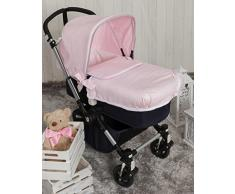Babyline bgboo Praline Tagesdecke Kinderwagen Rosa
