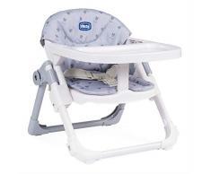 Chicco Sitzerhöhung Chairy, mitwachsender Tischsitz, ab 6 Monate, ab 12 Monate zum Kinderstuhl umwandelbar, grau