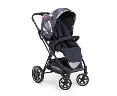 Hauck Mars Sportwagen mit Beindecke, Sitz drehbar, bis 25 kg, 3XL Verdeck, großer Korb, kompakt faltbar, kompatibel mit Babywanne & Babyschale, Wild Blooms