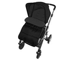 Fußsack/COSY TOES kompatibel mit CONCORD Kinderwagen black jack