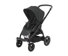 Maxi-Cosi 1224710111 Stella Kinderwagen mit extra großem Verdeck und Outdoor-Reifen, schwarz