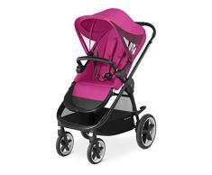 CYBEX Gold Kinderwagen Balios M, Mit wendbarem Komfortsitz und Schutzbügel, Ab 6 Monate bis 17 kg (ca. 4 Jahre), Passion Pink