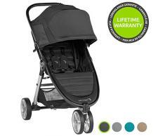 Baby Jogger City Mini 2 3-Rad Kinderwagen   leichter, zusammenklappbar und kompakt   Jet (schwarz)