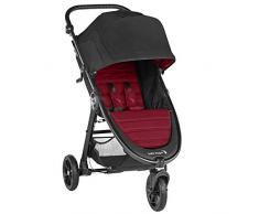 Baby Jogger City Mini GT2 leichter Kinderwagen   für jedes Gelände   Schneller Einhand-Faltmechanismus   Ember (burgunderrot)