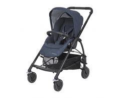 Bébé Confort - Mya verstellbarer Wagen aus Buggy, Kinderwagen und Babyschale, Gruppe 0+ Kinderwagen Nomad Blue