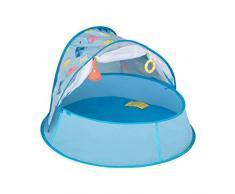 Babymoov A035213 Babymoov Aquani Planschbecken & Reisebett, LSF 50+, blau