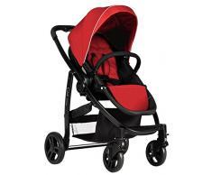 Graco 1820541 Evo + TS, Kinderwagen plus Junior Baby, rot
