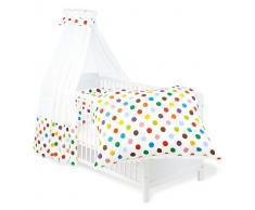 Pinolino 60666-0 - Set für Kinderbett, 4-teilig sieger design for Pinolino Dots