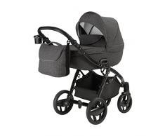 knorr-baby 2365-01 Kombikinderwagen Piquetto, grau