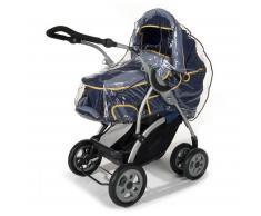 Reer PEVA Regenschutz für Kinderwagen transparent