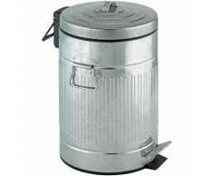 WENKO Treteimer New York Easy Close 12 Liter Abfalleimer Papierkorb Mülleimer