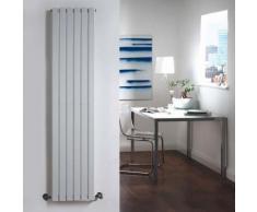 Design Heizkörper Vertikal Einlagig Weiß 1600mm x 354mm 862W - Sloane - HUDSON REED