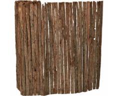 Rindenmatte Sichtschutzmatte Sichtschutz Baumrinden Zaun 1 x 5 m - [CASA.PRO]