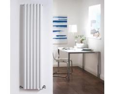 Design Heizkörper Vertikal Doppellagig Weiß 1780mm x 354mm 1401W - Revive - HUDSON REED