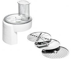 Bosch Hausgeräte MUZ4DS4 Durchlaufschnitzler (5 Funktionen, passend für die Bosch MUM4 Küchenmaschine), weiß