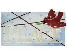 Pavillon Peace Teller Peace, Love and Birds 38,1 x 20,3 cm