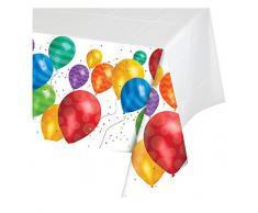 Creative Converting 315296 Table Cover, plastik, Luftballon Blast