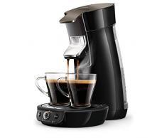 Philips HD6564/61 Kaffeemaschine, skintillant schwarz