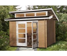 weka Gartenhaus 158 Gr.1, 28 mm, mit 3 Oberlichtern