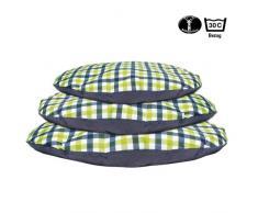 Karlie Hundekissen Oval 100 x 76 x 10 cm blau-grün