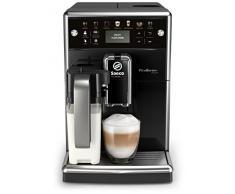 Saeco SM5570/10 PicoBaristo Deluxe Kaffeevollautomat (LED Display, integriertes Milchsystem) schwarz & Philips CA6707/10 Rundum-Pflegeset, für Philips und Saeco Kaffeevollautomaten mit AquaClean