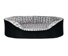 Trixie 37253 Vital Bett Lino, 110 × 92 cm, schwarz/grau