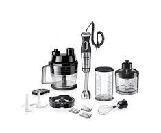 Bosch MaxoMixx Stabmixer Set MS8CM61X1, 12 Stufen, Turbostufe, Würfelschneider, 1000 Watt, Edelstahl