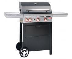 Barbecook Grill, Gasgrill Spring 350, schwarz, 133 x 57 x 115 cm, 2236935000