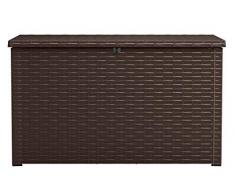 Keter Kissenbox Java, Braun, 870L