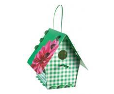 Tweet Tweet Home Vogelhaus DIY Aviary Flower ON Gingham