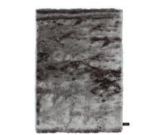 Benuta Shaggy Hochflor Teppich Whisper Grau 140x200 cm   Langflor Teppich für Schlafzimmer und Wohnzimmer