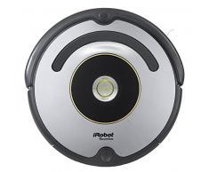 iRobot Roomba 615 Saugroboter mit 3-stufigem Reinigungssystem, Dirt Detect, Staubsauger Roboter selbstaufladend mit Ladestation, geeignet für Tierhaare, Teppiche und Hartböden, mit intelligentem Griff