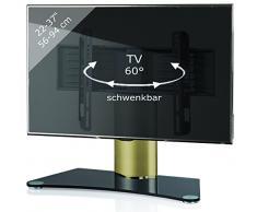 VCM 17081 TV Tisch - Standfuß Windoxa Mini Messing