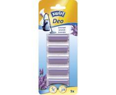 Swirl Staubsauger Deo-Sticks Lavendel 5x (Zum Einlegen in den Staubsaugerbeutel)
