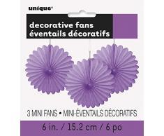 Unique Industries 63252 Decoration Party-Deko, Papier, violett