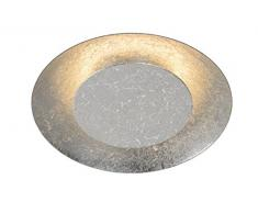 Lucide FOSKAL - Deckenleuchte - Ø 21,5 cm - LED - 1x6W 2700K - Silber
