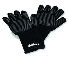 Enders Grill Handschuhe aus feuerfestem Aramid, 8785, hitzebeständig, Handschuhe für Gas-Grill, BBQ, Backofen, Kamin, sicher und bequem