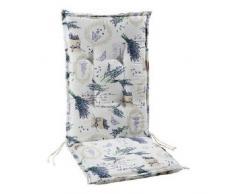 BEST 04201640 Sesselauflage hoch STS, 120 x 50 x 7 cm, mehrfarbig, verschiedene Designs
