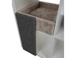 TRIXIE Katzenregal - Weiche Höhle für Regal, quadratisch, Katzenbett, Zubehör für Katzen, Katzen, Katzen, Bett, Bücherregal, 33 x 48 x 37 cm