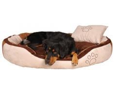 Trixie 37723 Bett Bonzo, 100 × 70 cm, beige/braun