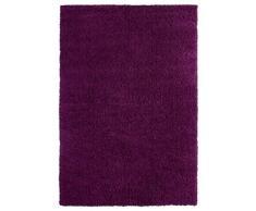 Luxor Living 1100213 Teppich Barrie, Hochflorteppich, 80 x 150 cm, lila