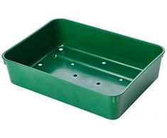 Stewart 2333004 22 cm extra tief Samen Tablett mit Löchern, grün