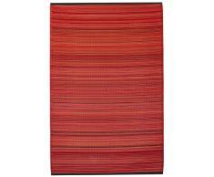 Fab Hab - Cancun - Sunset - Teppich/ Matte für den Innen- und Außenbereich (150 cm x 240 cm)