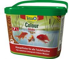 Tetra Pond Colour Sticks – Fischfutter für Teichfische, für natürliche Farbenpracht und klares Wasser, 7 Liter