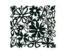 Koziol Raumteiler Alice, Kunststoff, solid schwarz, 0.3 x 27 x 27 cm